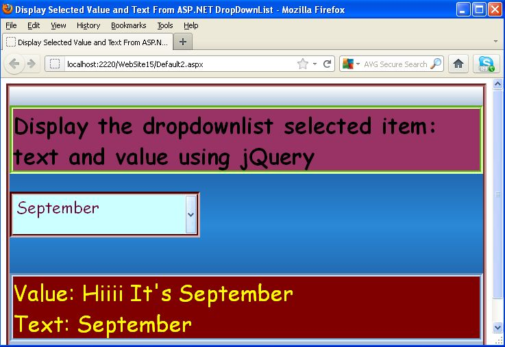 how to set the selected value in dropdown using jquery