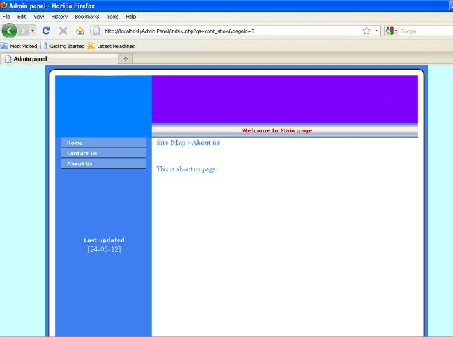 Admin Panel PHP Themes