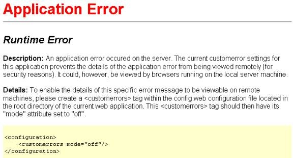 On Error Resume Next Javascript Asp