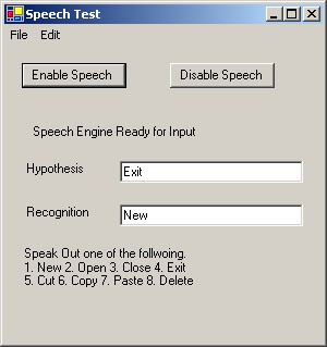 converting Speech to Text in C# NET