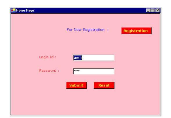 A Quiz Application using Windows Form