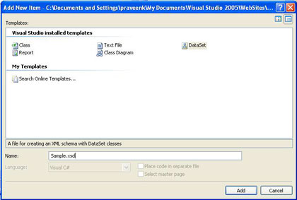 Accessing Data using Object Data Source in ASP Net 2 0 and C#