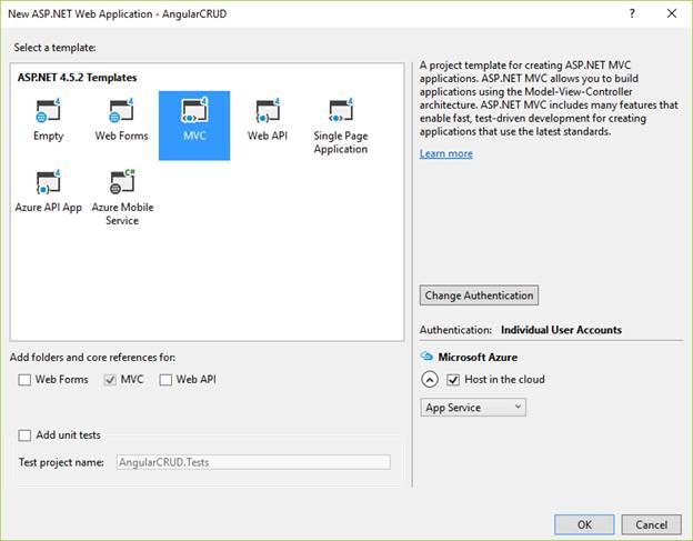 AngularJS CRUD Operation Using ASP NET MVC