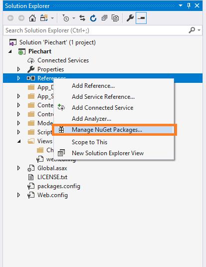 ASP NET MVC5 - Generate Pie Chart Using JavaScript C3 Chart