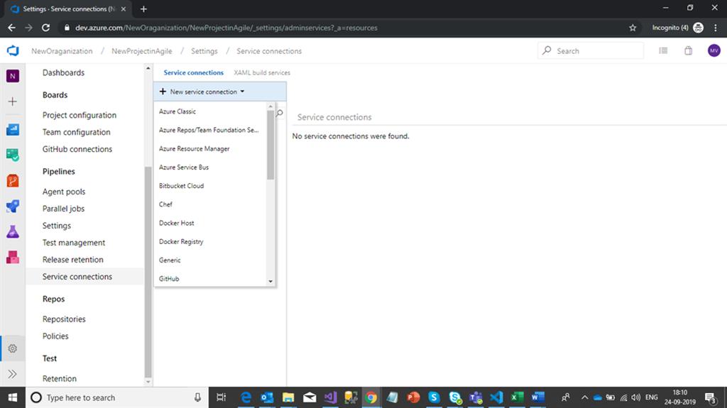 Azure Devops Project Configuration Settings Part One
