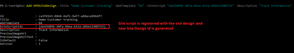 Basic Concepts Of Site Scrip