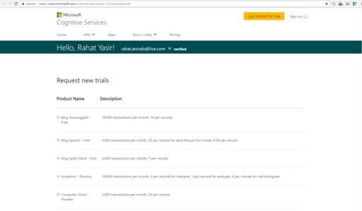 Bing News Search API With Universal Windows Platform