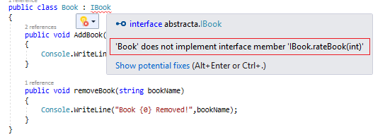 C# 8.0 - Default Interface Implementation - A New Feature Which Makes The Interface More Flexible