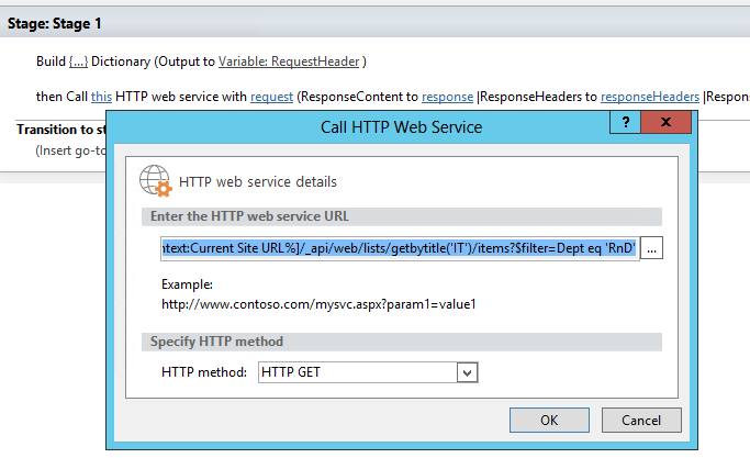 Calling Rest Api From A Sharepoint Designer Workflow