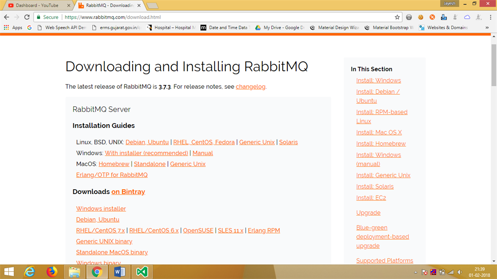 Chat Application With ASP NET MVC Using RabbitMQ