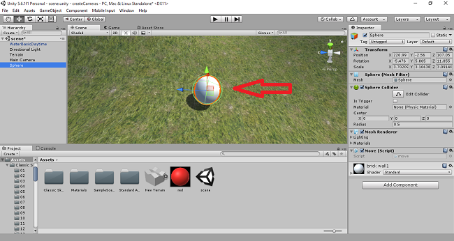 Create A Rolling Ball Game With Force And Gravity In C#