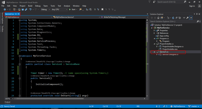 Create Windows Services in C# - DZone Web Dev