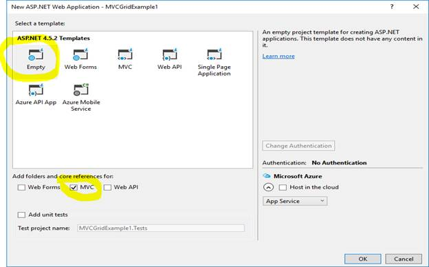Creating Grid View In ASP NET MVC With Search, Pagination