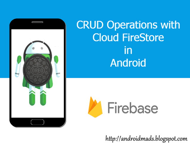 CRUD Operations With Firebase Cloud Fire Store