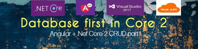 Database First In  Net Core 2 0 CRUD Operation - Part One