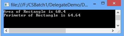 Delegates in C#