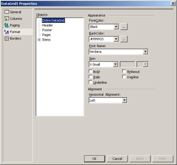 Developing Web Applications in VS NET
