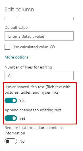 Display Appended Comments Version History From SharePoint