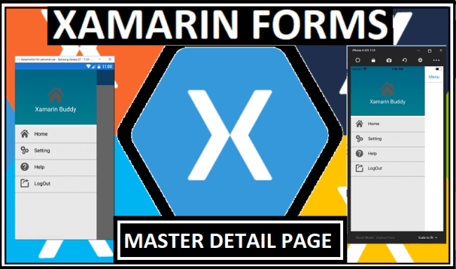 Dynamic Master Detail Page In Xamarin Forms
