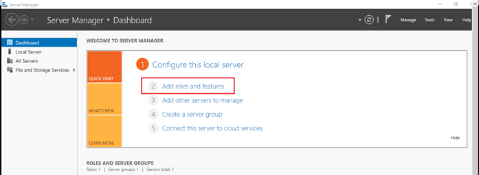 Establishing Connection Between On-Premises Server To Azure