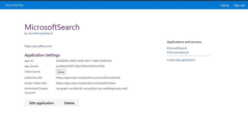 Extend Microsoft Search With Azure DevOps Graph Connector
