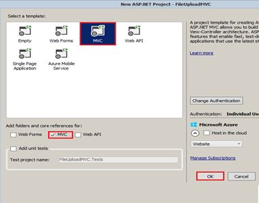 File Upload Using ASP NET MVC 4 5 Application