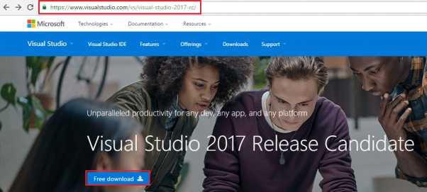 Getting Started With Visual Studio 2017 Enterprise RC
