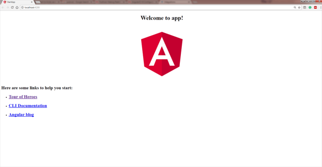 How An Angular 5 Application Gets Started Or Loaded
