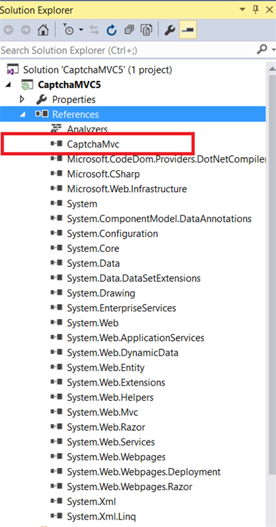 Implement Different Types Of Captcha With ASP NET MVC Using