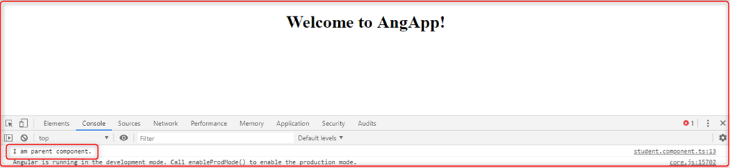 @Input() And @Output() Decorator In Angular