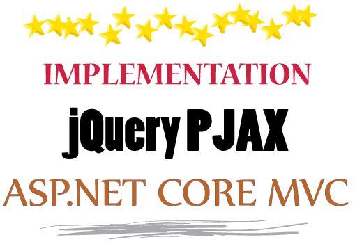 jQuery PJAX Implementation In ASP NET Core