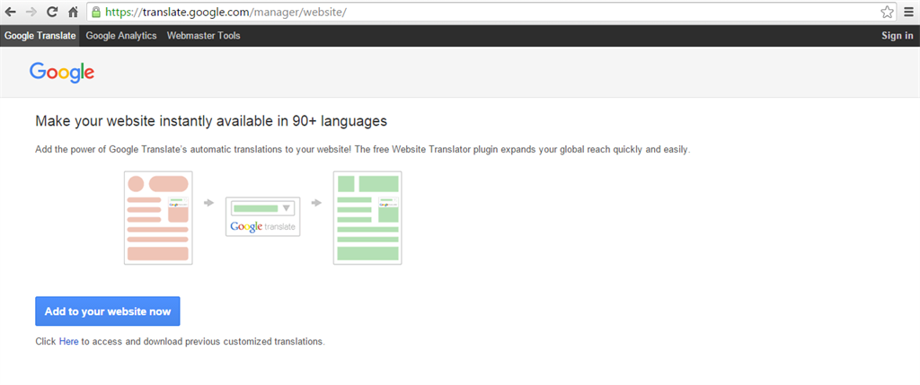 Language Converter Using Google Translator Plugin In ASP NET
