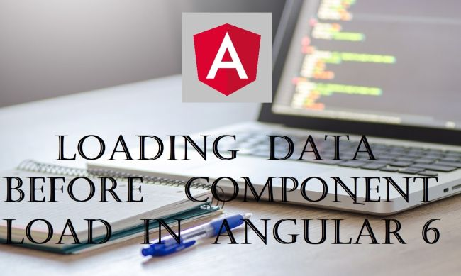 Load All Data Before Loading The Component View In Angular 6