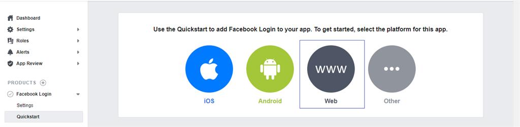 Quickstart to add login