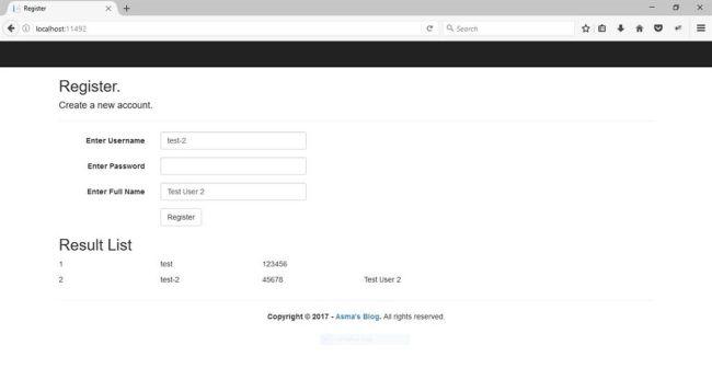 NET MVC5 - Entity Framework Simple Code First Database Approach