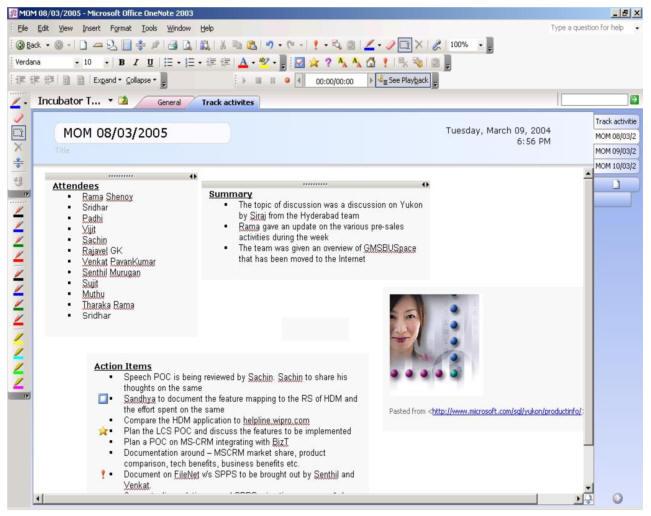 product key microsoft office onenote 2003