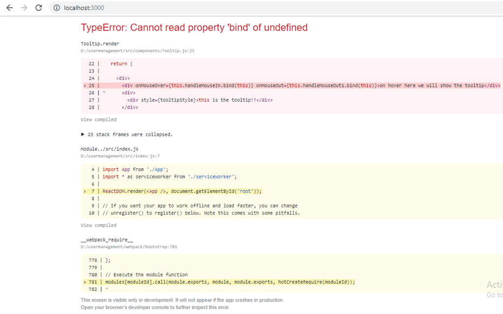 Portal And Error Boundaries In React