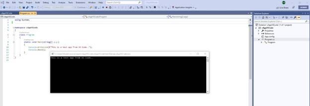 Running A Visual Studio 2019 Solution In Visual Studio Code