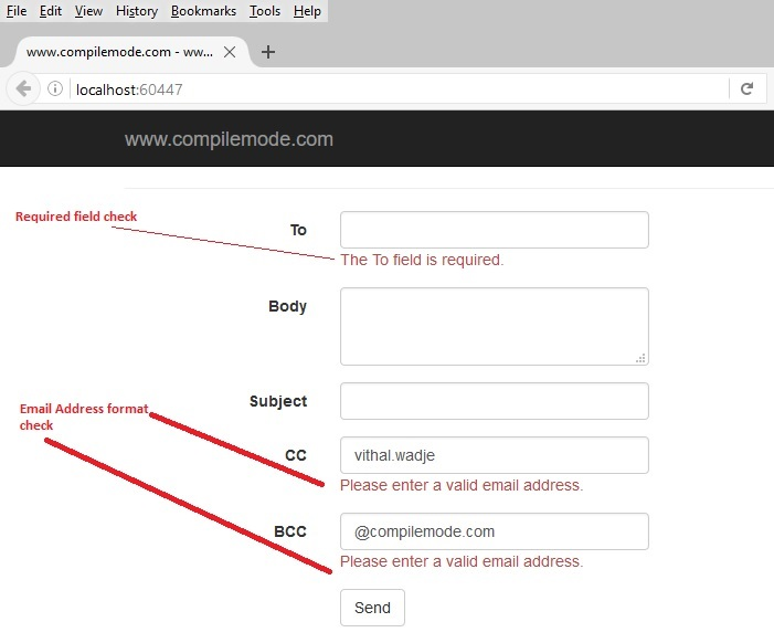 Sending Emails In ASP NET MVC From Razor View Using WebMail