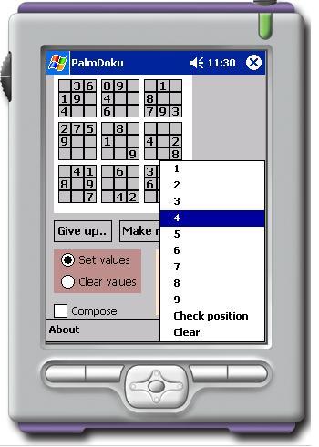 Sudoku generating and solving using C# in PocketPC SDK