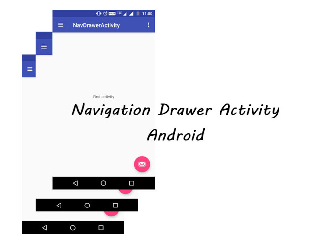 Navigation Drawer Activity In Android