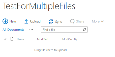 Upload Multiple Files To SharePoint List On Single Click