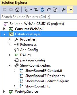 Web API CRUD Operations And Consume Service In ASP NET MVC