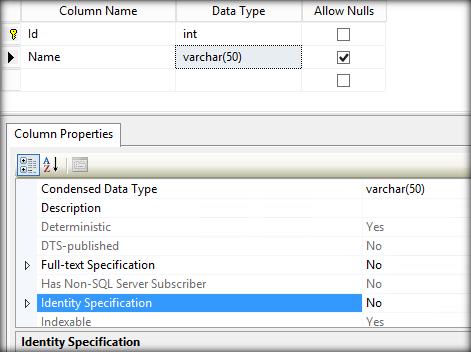 SQL Server error code 544 - Cannot insert explicit value for ...