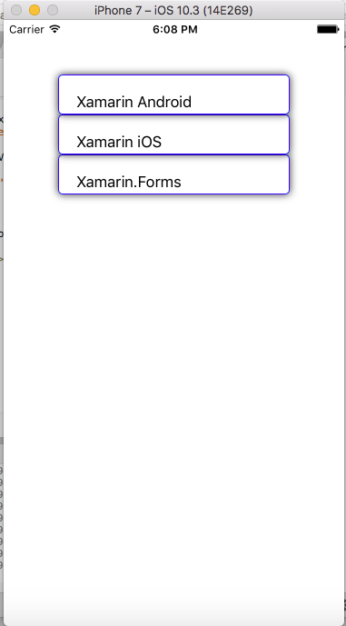 Xamarin Forms - Border Shadow Effects Using Frame