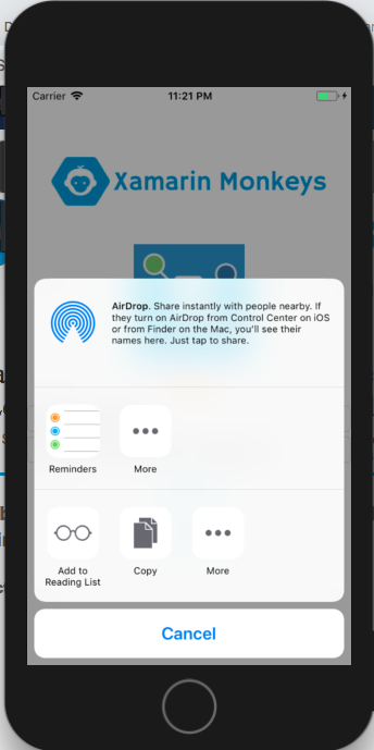Xamarin Forms - Share Data Using Xamarin Essentials