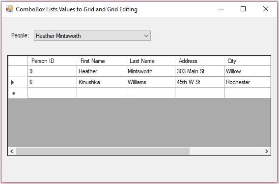 Code for Add and/or Append a row in GridView C#