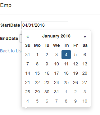 Bootstrap datetimepicker for jquery 3.2.1