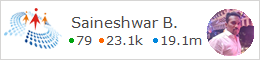 profile for Saineshwar C# Corner - A Social Community of Developers and Programmers